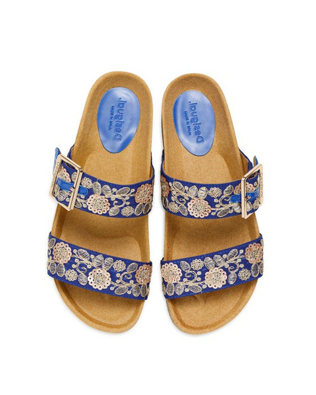 Desigual Women's Slipper Various Colours 203575 - blue 37