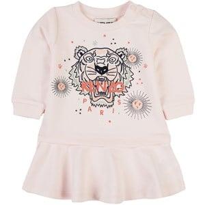 Kenzo Tiger Mjukis-klänning Rosa 6 mån