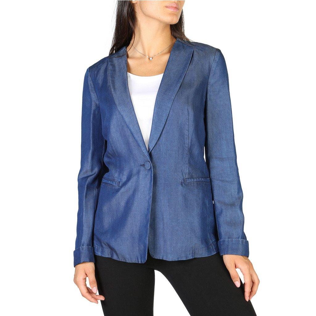 Emporio Armani Women's Blazer Blue 3Y2G1R2D26Z - blue 46 EU