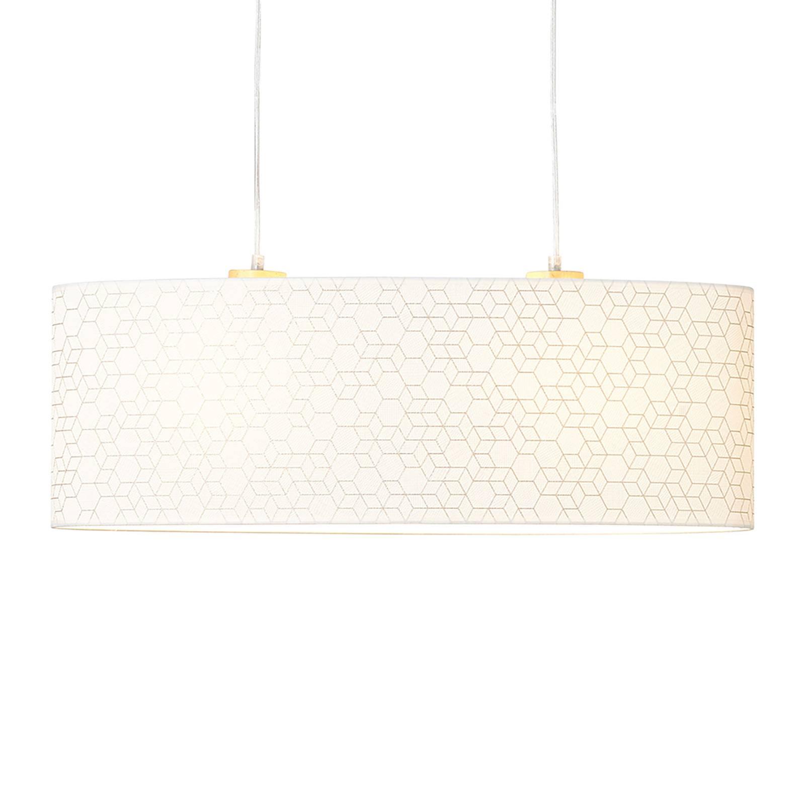 Riippuvalaisin Galance, valkoinen, 70 x 26 cm