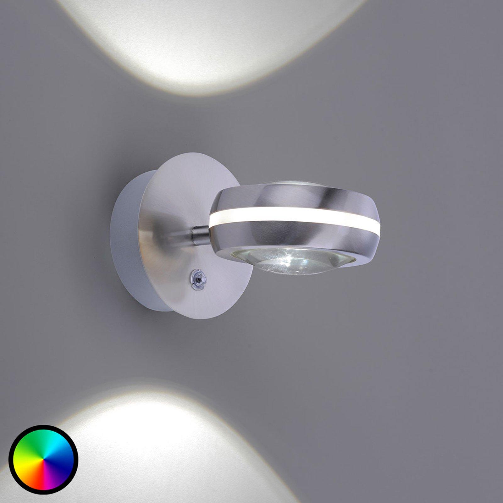 Trio WiZ Vista LED-vegglampe up and down