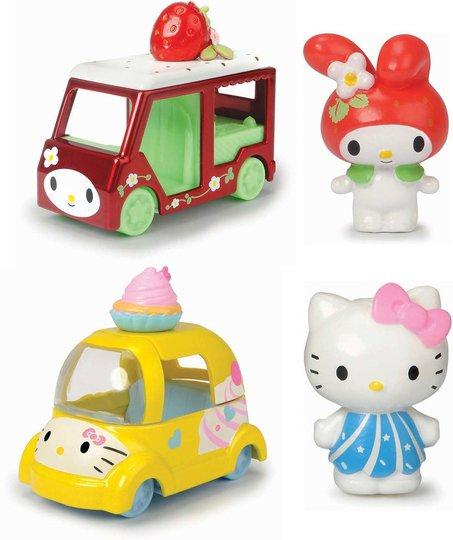 Hello Kitty Figurer Cupcake & Melody Strawberry