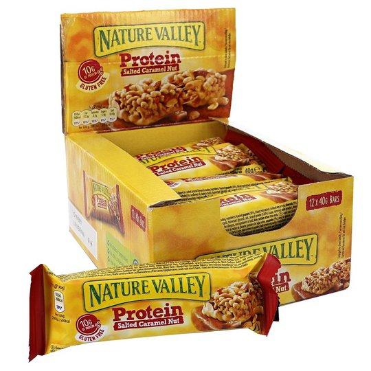 Proteinbars Jordnötter, Mandlar & Karamell 12-pack - 34% rabatt