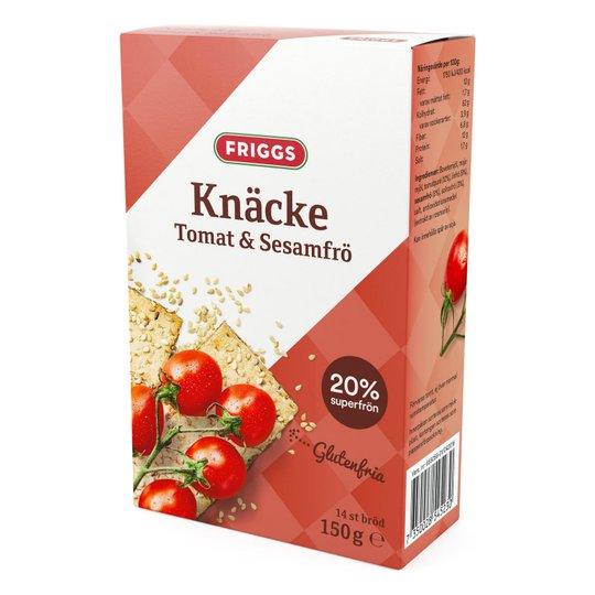Näkkileipä Tomaatti ja seesaminsiemen 150g - 75% alennus
