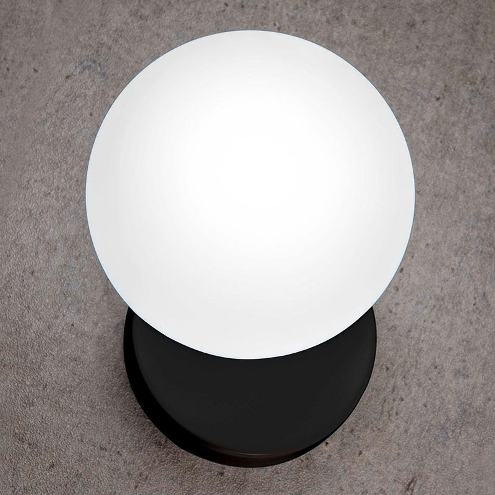 Tin Tin vegglampe 1 lyskilde svart