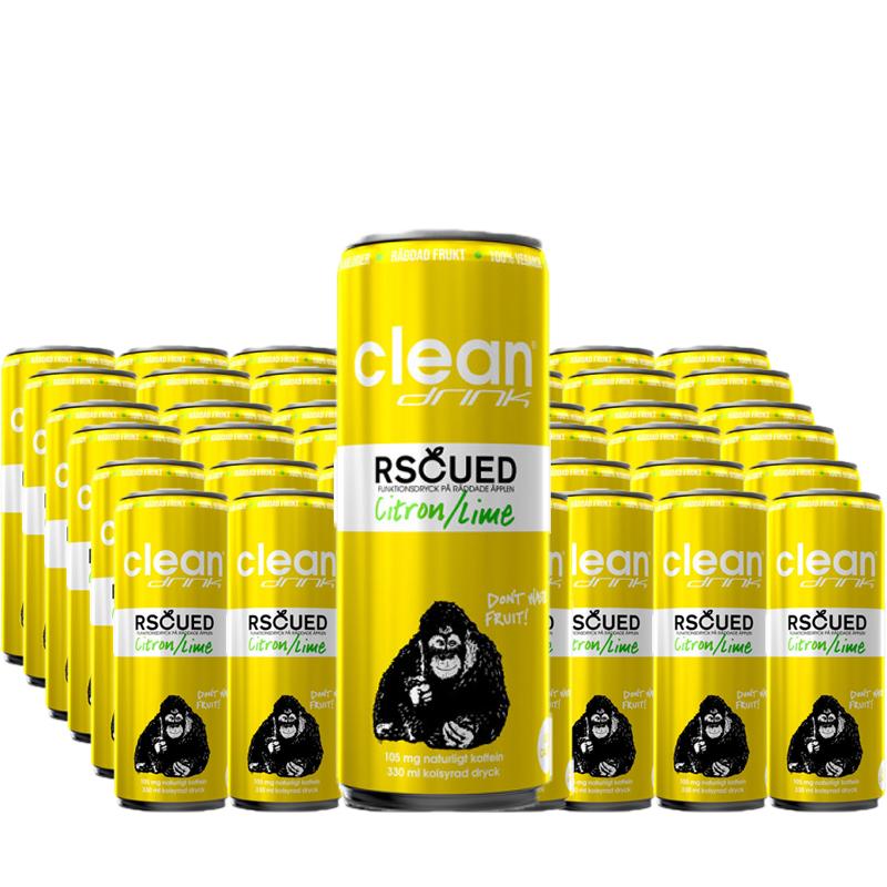 Funktionsdryck Citron & Lime 48-pack - 60% rabatt