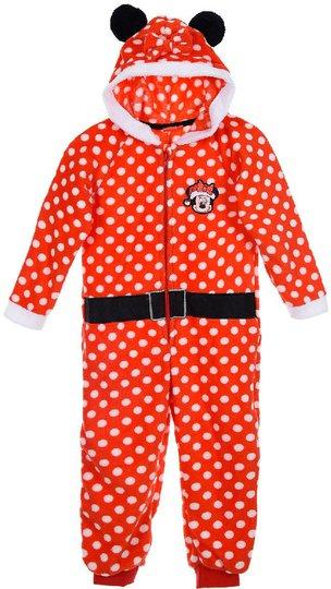 Disney Minni Mus Jumpsuit, Rød 3 år