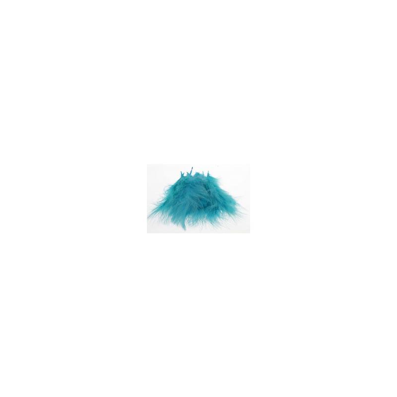 Marabou Kingfisher Blue Store fjær