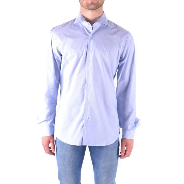 Fay Men's Shirt Blue 179623 - blue 41