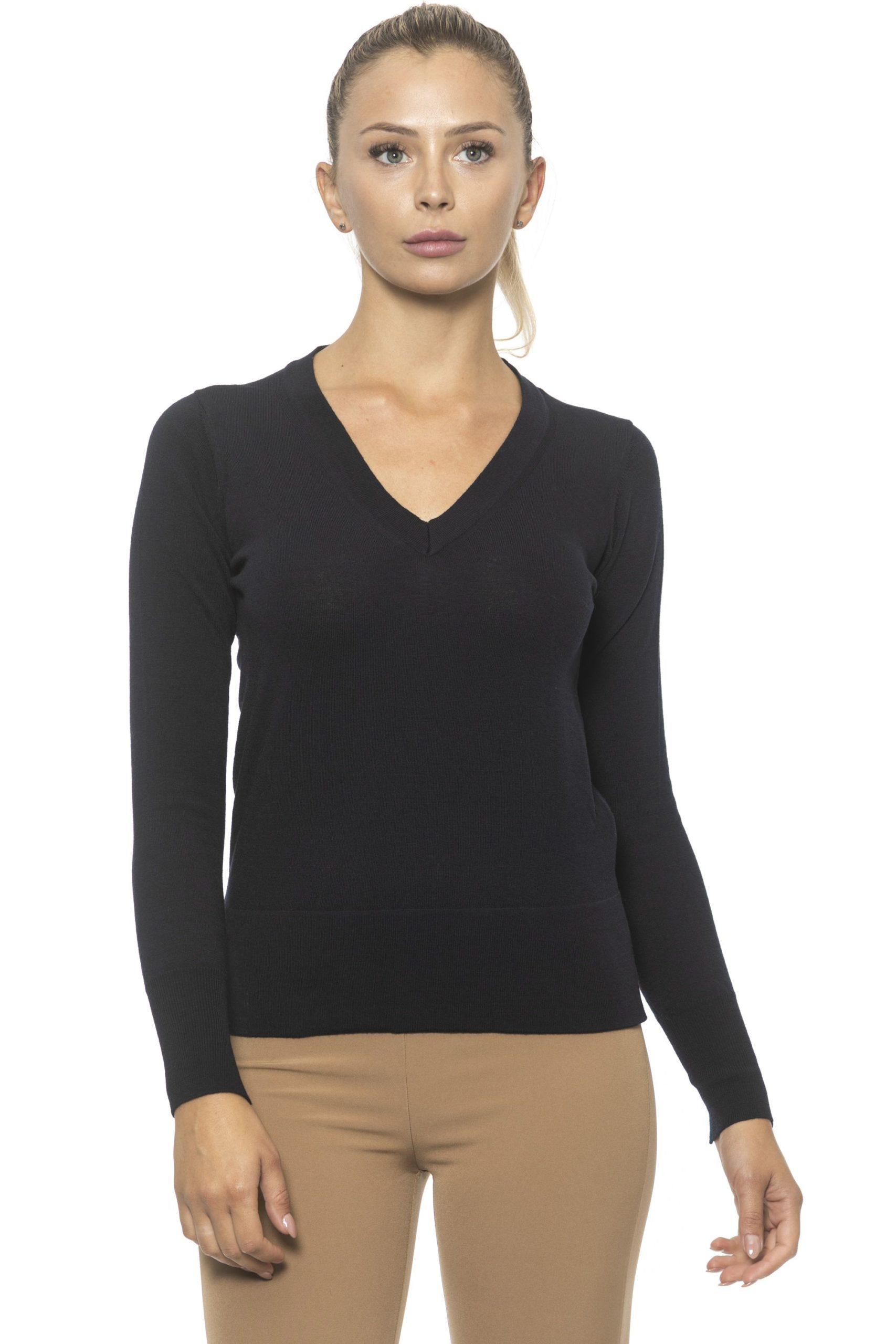 Alpha Studio Women's Blunotte Sweater Blue AL1314902 - IT44 | M