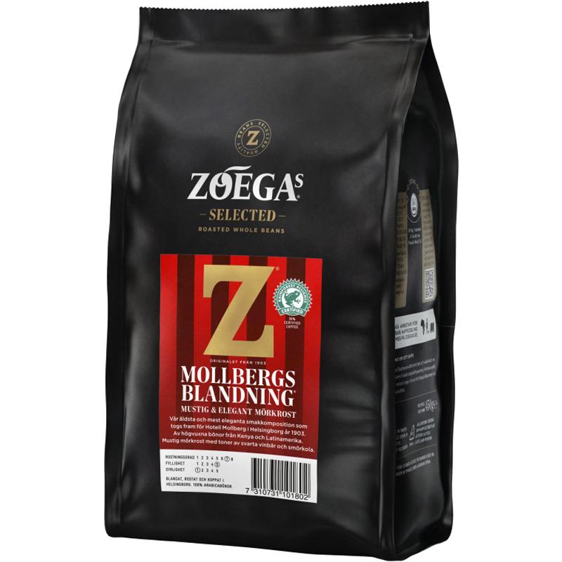 """Kaffebönor """"Mollbergs Blandning"""" 450g - 32% rabatt"""