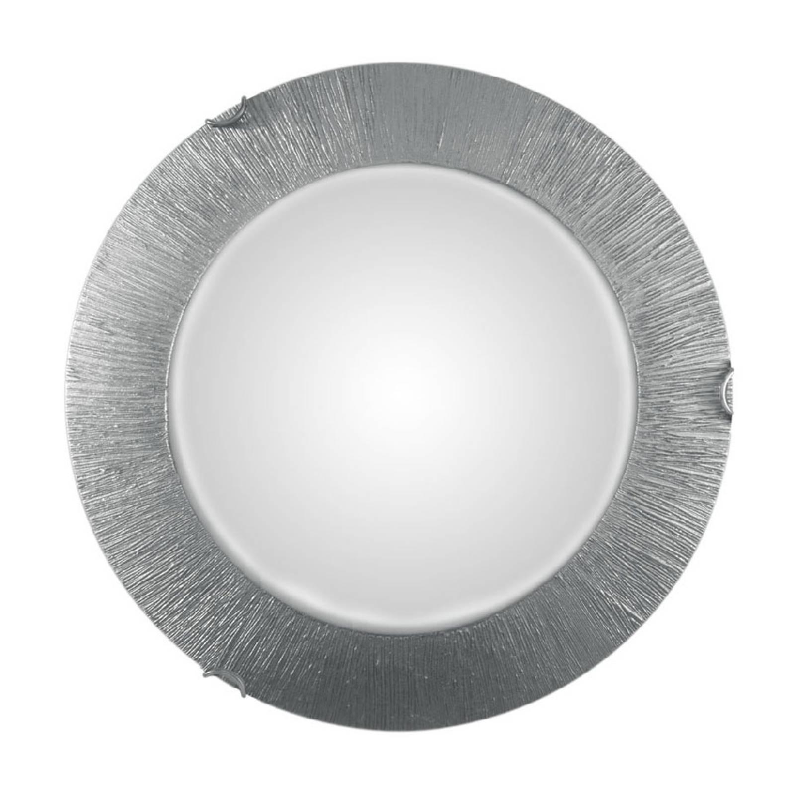 Seinävalaisin Moon Sun, hopea, Ø 40 cm