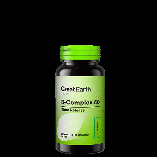 B-Complex 50, 60 tabletter