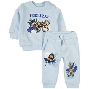Kenzo Tiger Mjukisset Blått 9 mån