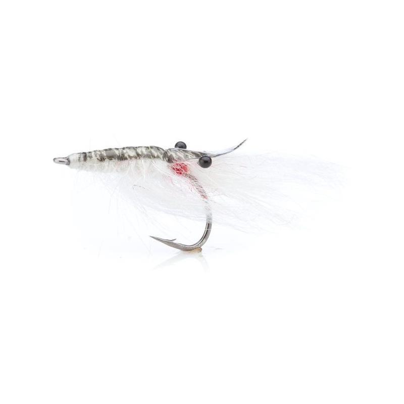 John Shrimp White # 4 Kjøp 12 fluer få gratis flueboks