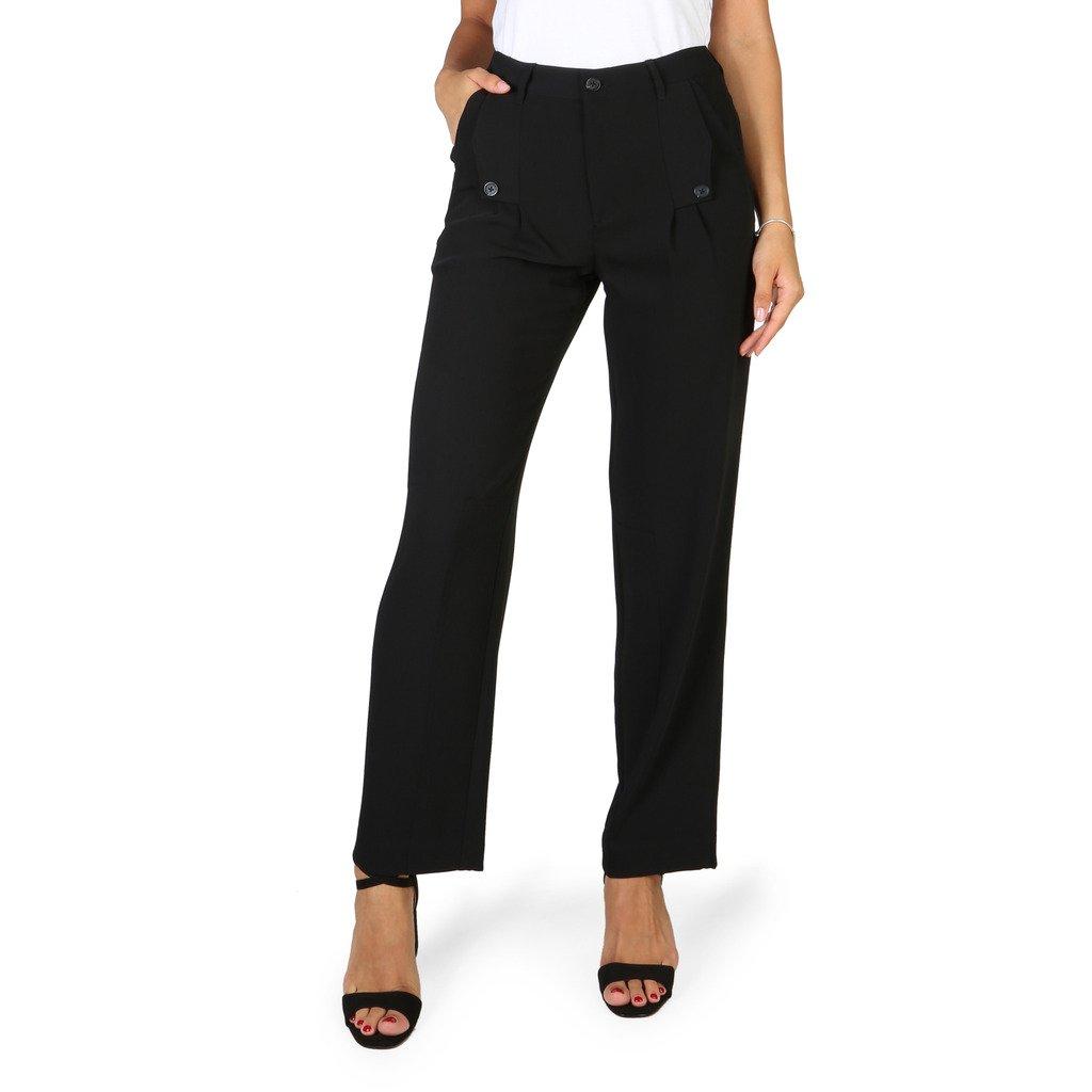 Emporio Armani Women's Trousers Black VJP17TVJ131 - black 36 EU