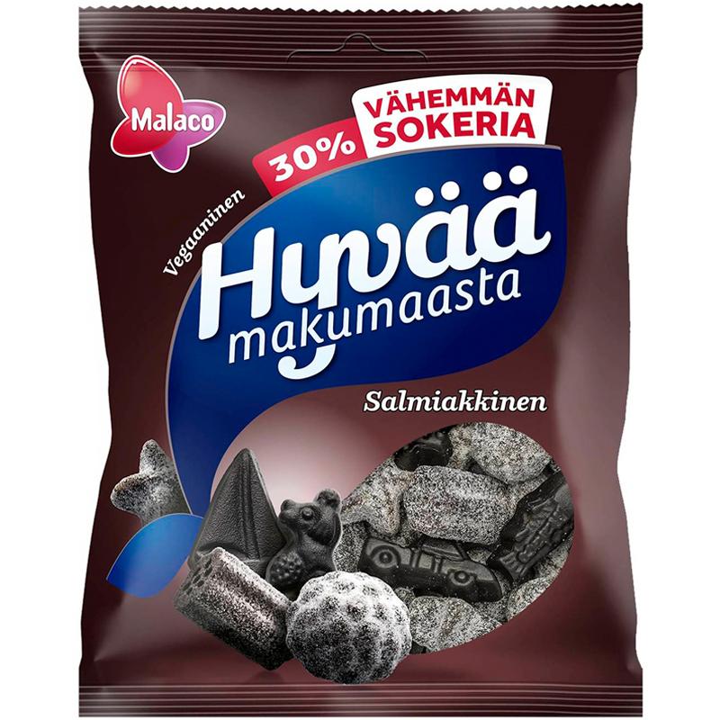 Hyvää Makumaasta Salmiakkinen - 28% alennus