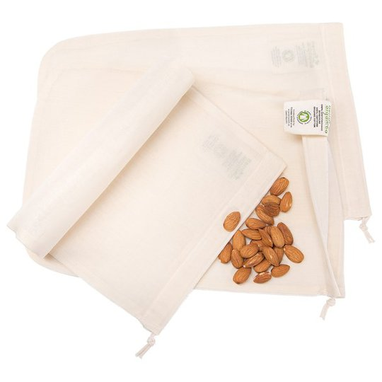 Casa Organica Ekologisk Nötmjölkspåse i GOTS-bomull