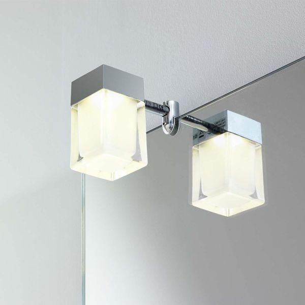 Gustavsberg Cube Speilbelysning 4,5 x 8 cm, til Artic-serien