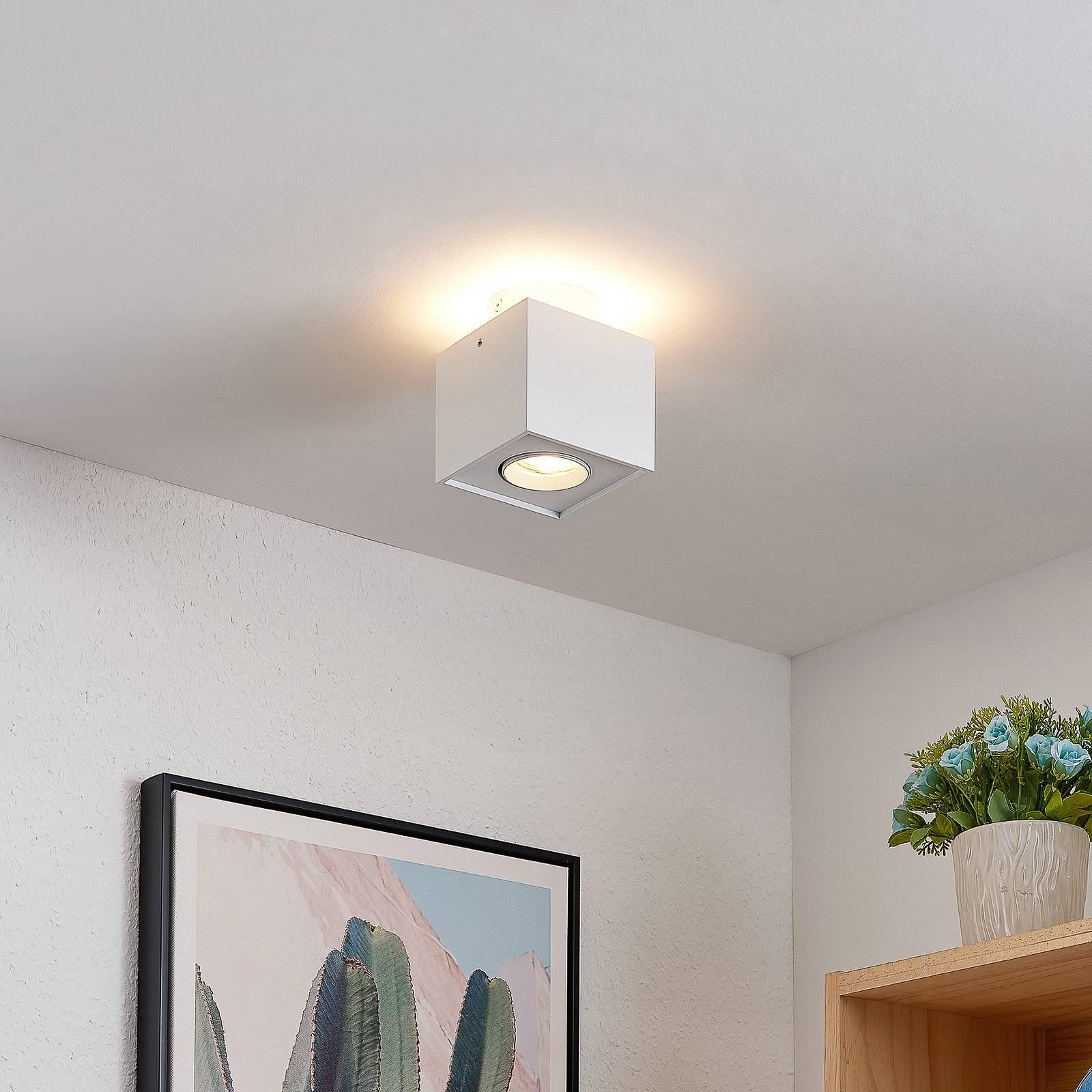 Arcchio Walisa -LED-kattovalaisin, kulmikas