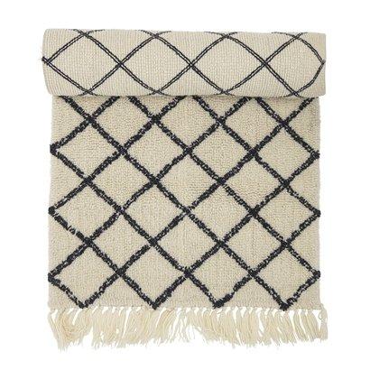 Bloomingville - Wool Rug 200 x 70 cm - Nature (32708266)