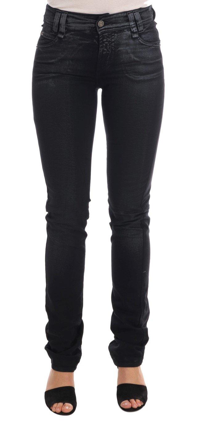 John Galliano Women's Cotton Stretch Regular Fit Jeans Gray BYX1171 - W26
