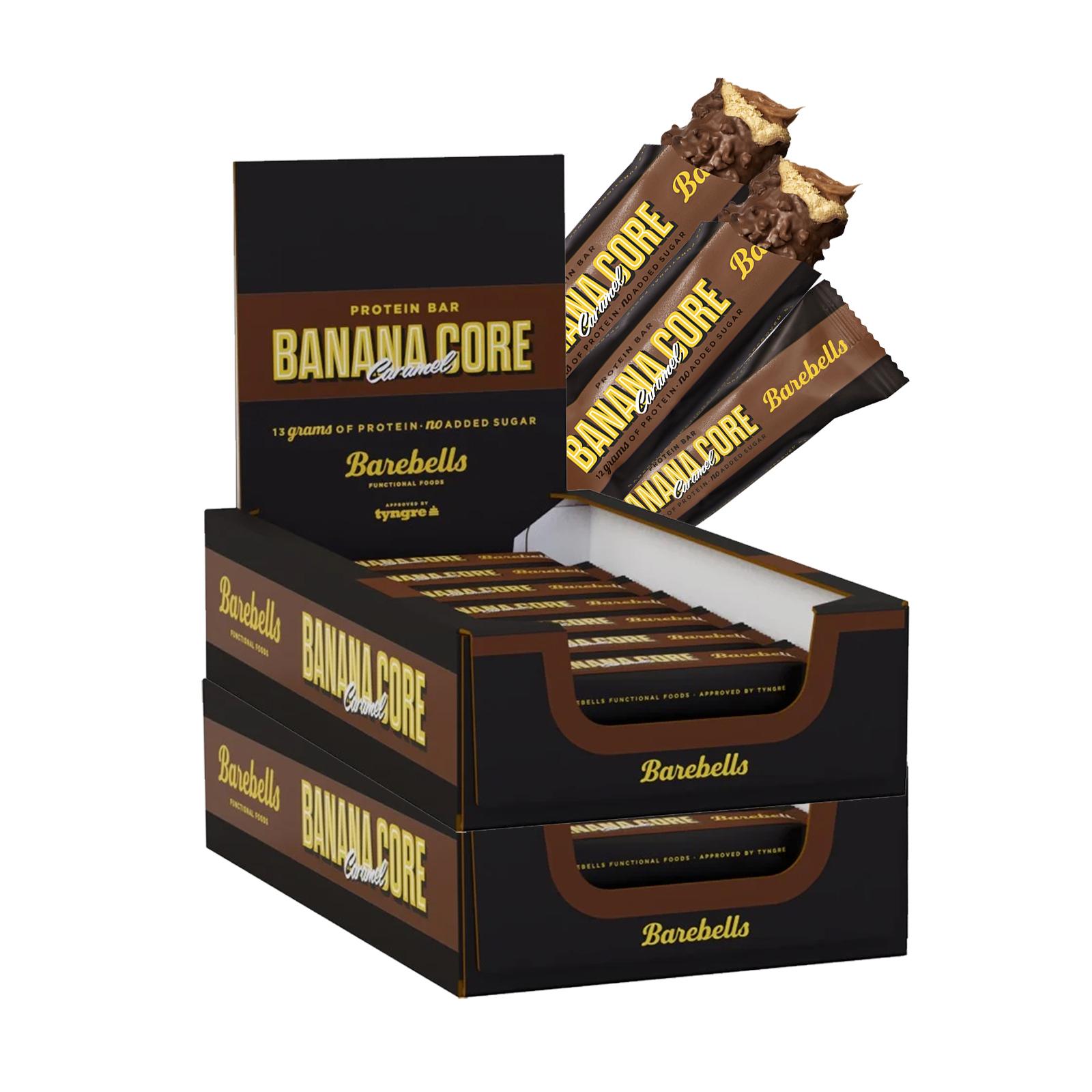Proteinbars Banana Caramel Core 36-pack - 50% rabatt