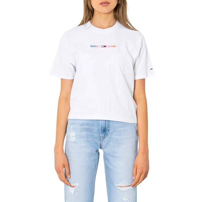 Tommy Hilfiger Jeans Women's T-Shirt White 299683 - white XS