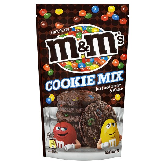 M&Ms Cookie Mix Pouch 180G