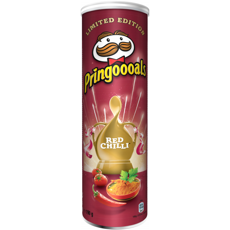 """Chips """"Red Chilli"""" 190g - 22% rabatt"""