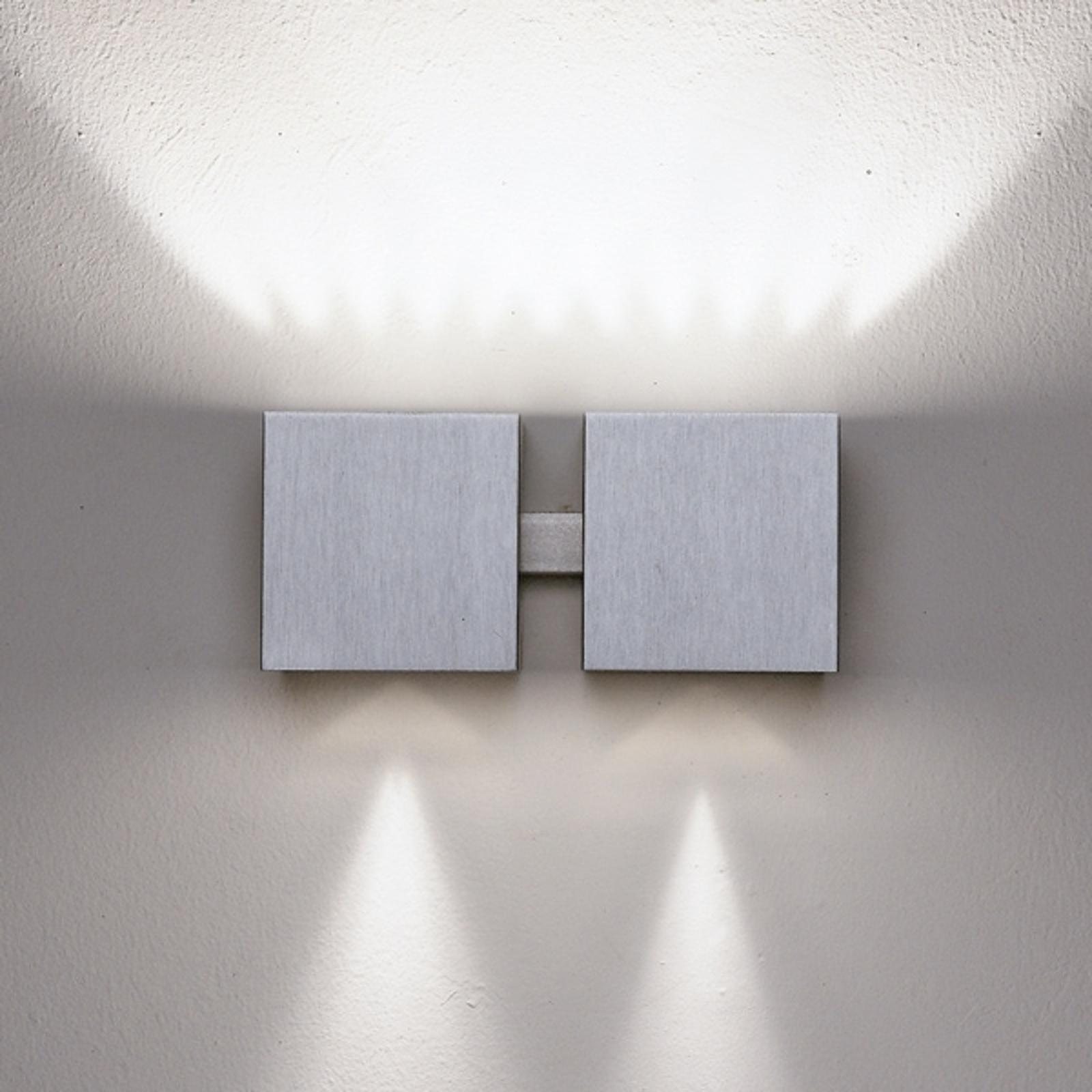 Seinävalaisin Dau up-down alu, 2 lamppua