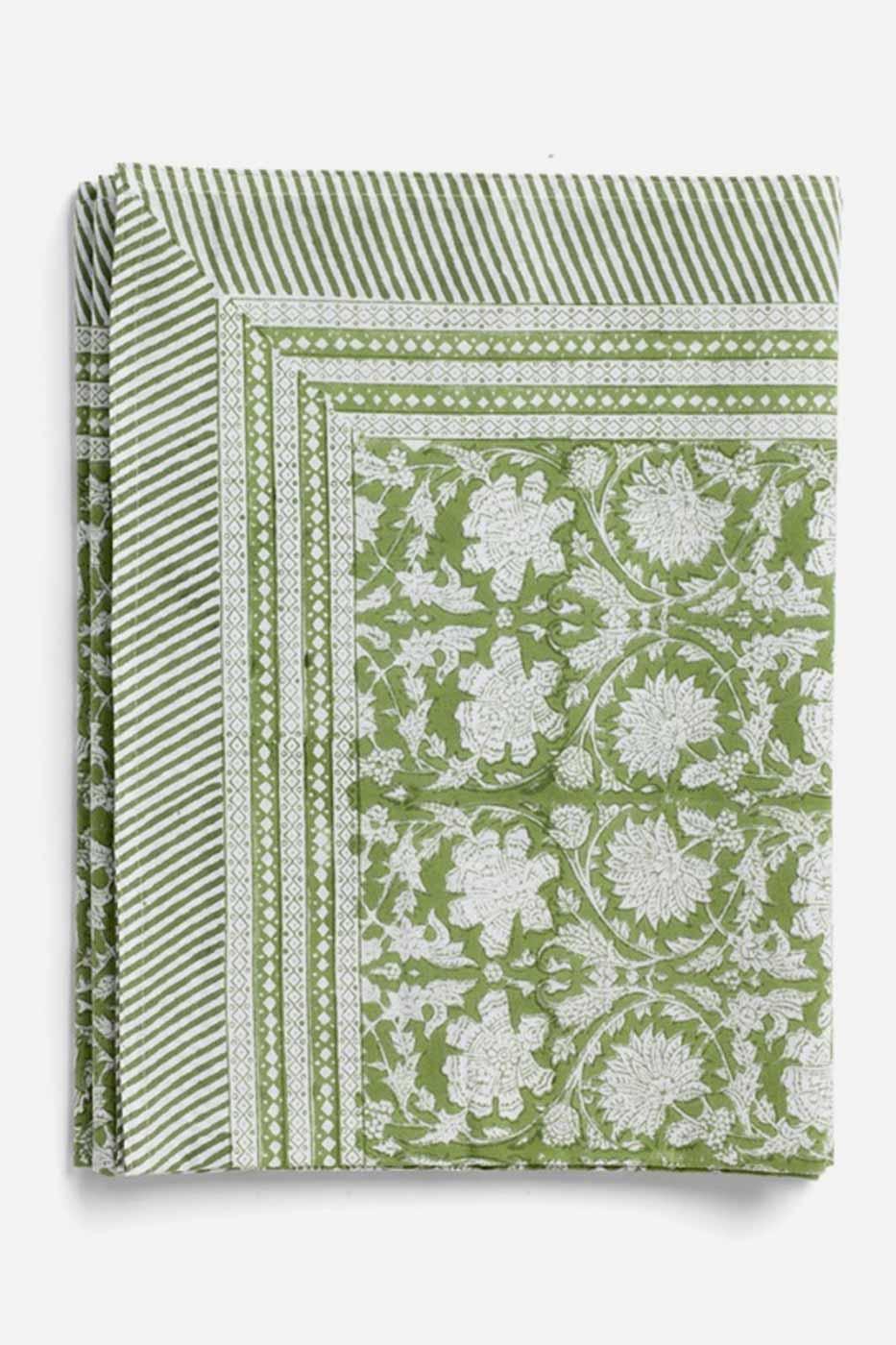 Duk Paradise grön 170x270