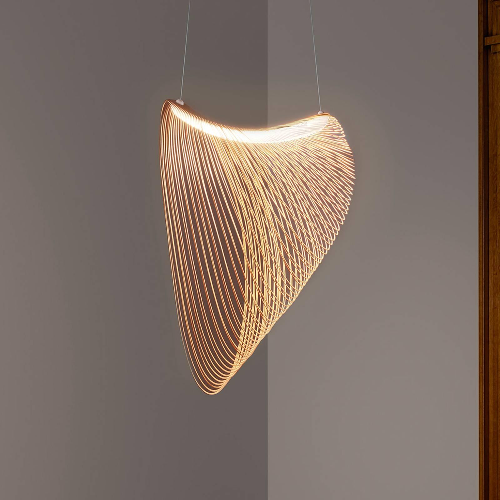Luceplan Illan -LED-riippuvalo himmennettävä Ø80cm