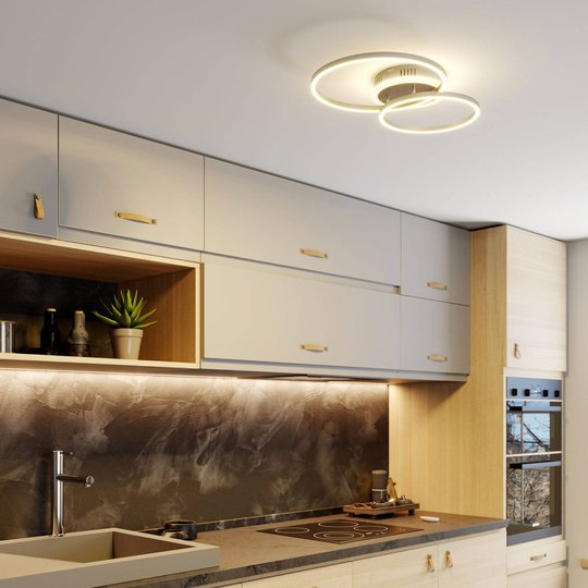Lindby Smart Edica LED-taklampe