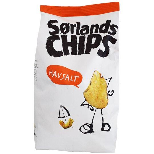 Chips Havssalt 200g - 65% rabatt