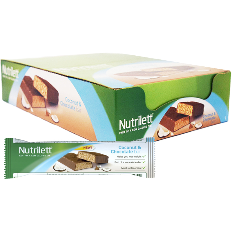 "Hel Låda Mealbars ""Coconut & Choco"" 15 x 56g - 67% rabatt"