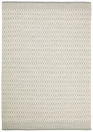 Mahi Matta Ull Off White/Ljusgrå 200x300 cm