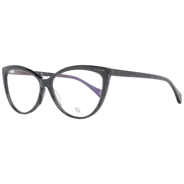 Yohji Yamamoto Women's Optical Frames Eyewear Black YS1001 58024