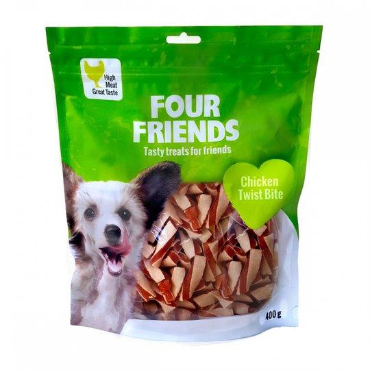 FourFriends Dog Chicken Twist Bite 400 g