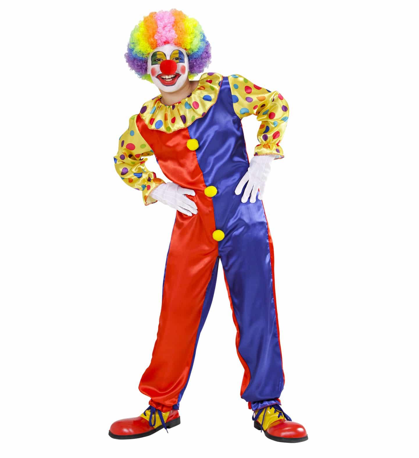 Clowndräkt barn 128