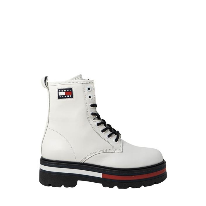 Tommy Hilfiger Jeans Women's Boots White 319546 - white 38
