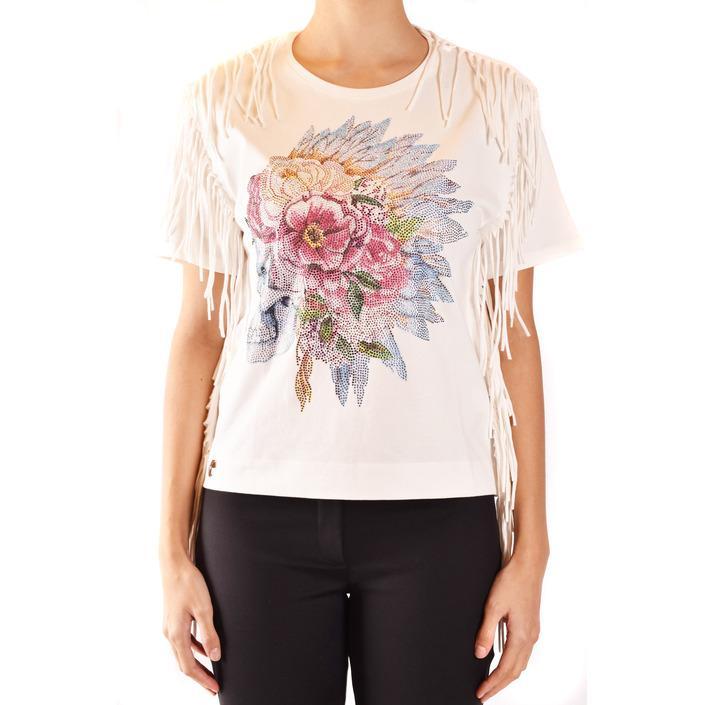 Philipp Plein Women's T-Shirt White 185007 - white M