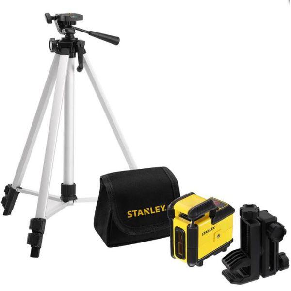 STANLEY 360 Set Ristilaserpaketti punainen laser, jalusta & laukku