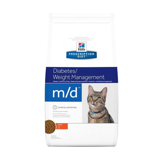 Hill's Prescription Diet Feline m/d Diabetes/Weight Management Chicken (1,5 kg)