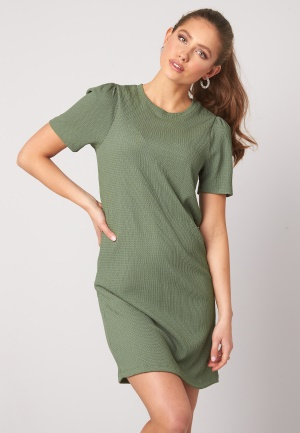 Happy Holly Emilia puff dress Dusty green 32/34