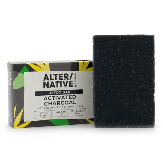 Alter/native Naturlig Handgjord Detox-tvål - Activated Charcoal, 95 g