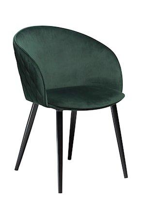 Stol Dual Velour - Emerald Grønn