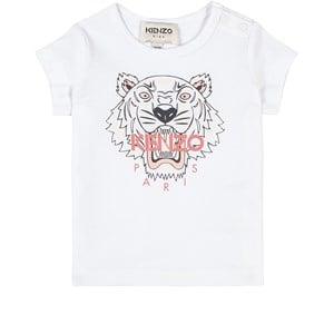 Kenzo Tiger T-shirt Vit 6 mån