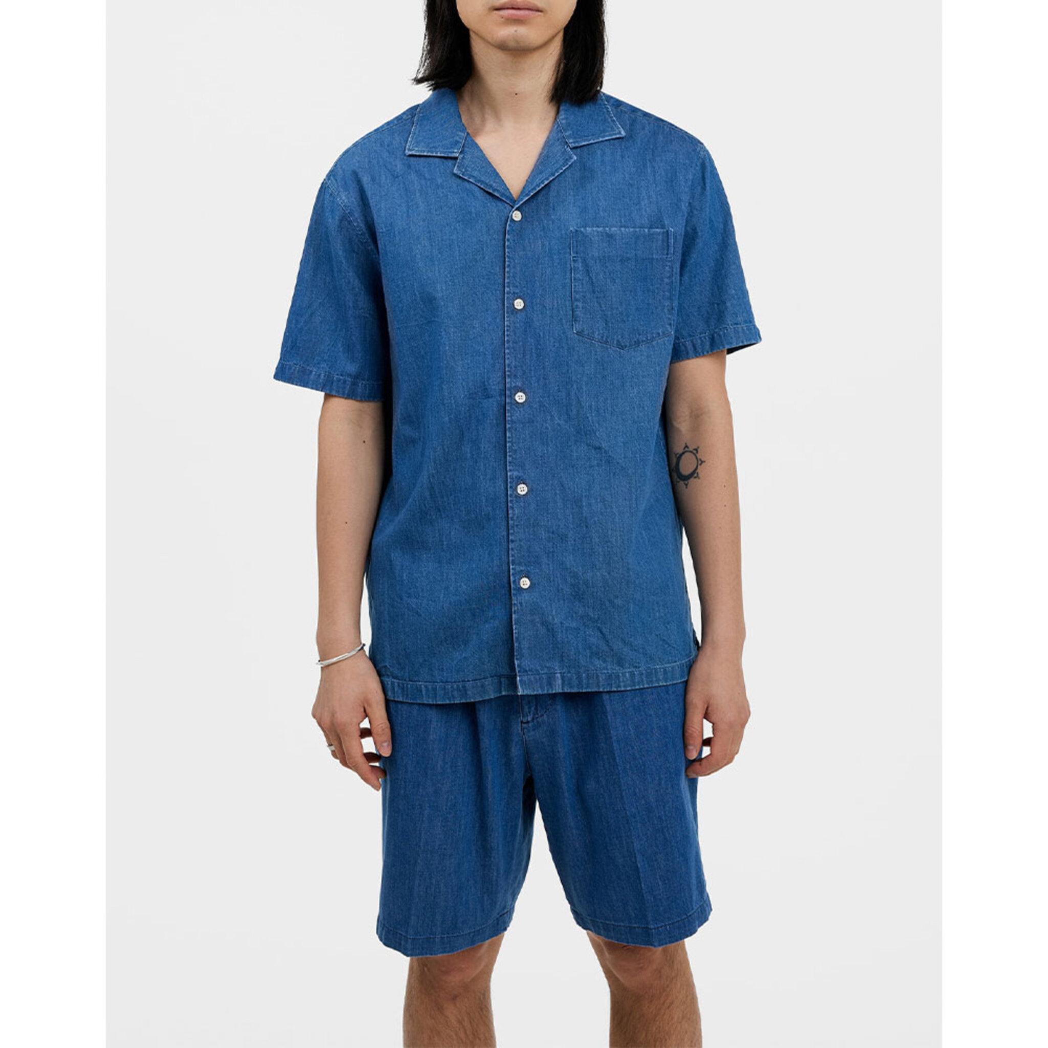 Bob Indigo Resort Shirt