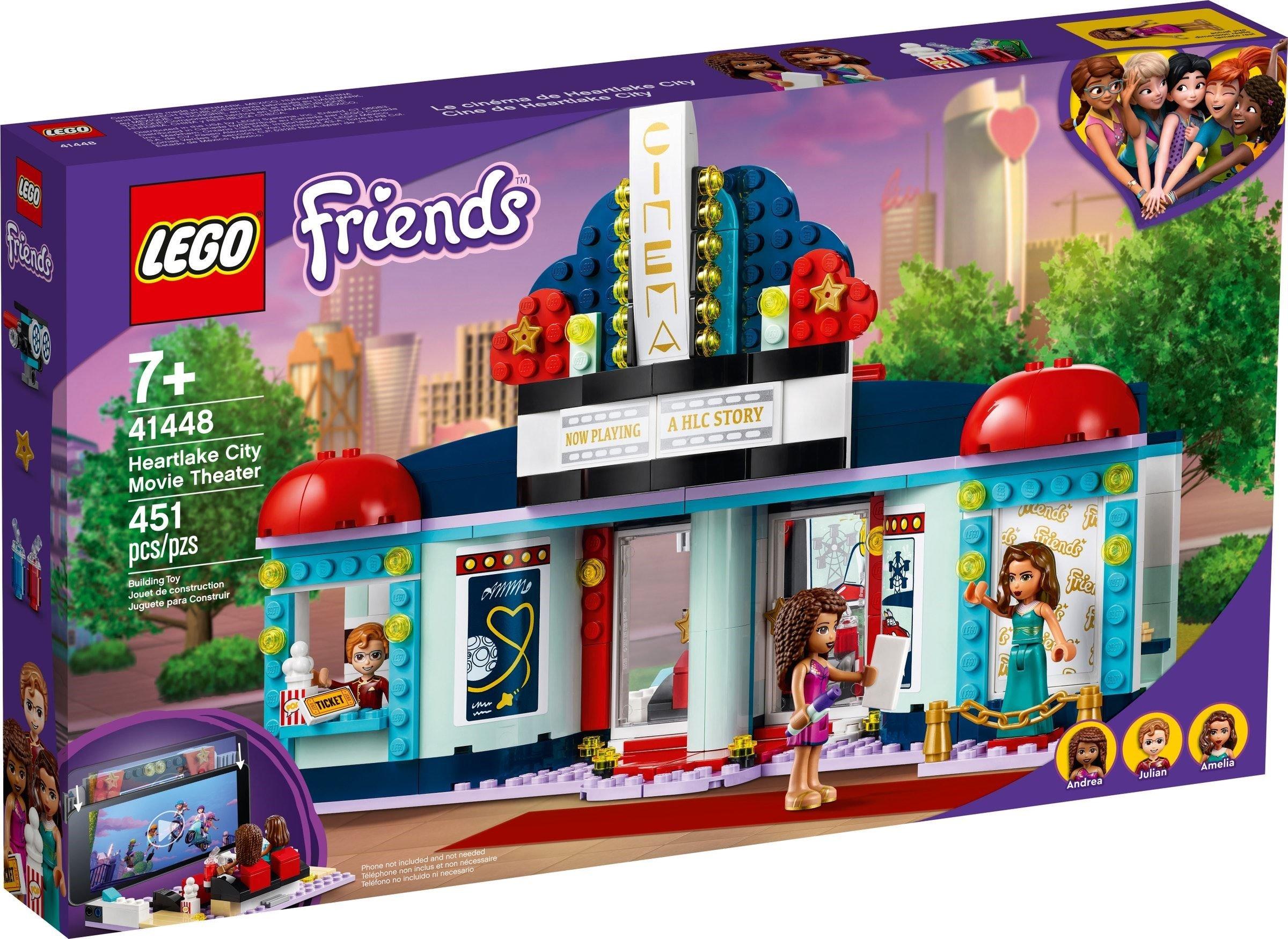 LEGO Friends - Heartlake City Movie Theater (41448)